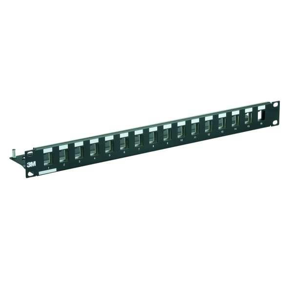 Cuivre, Solutions VDI RJ45, Panneaux 19'', Panneau de brassage 19'' 1U RJ45