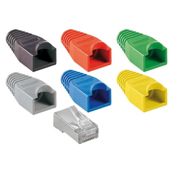 Cuivre, Solutions VDI RJ45, Accessoires RJ45, Manchons couleurs à bosse RJ45