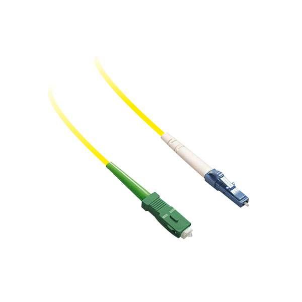 Fibre optique, Connectiques brassage, Jarretières monomodes, Jarretière 9/125 simplex SC-APC/LC-PC