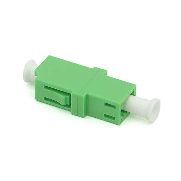 Fibre optique, Connectiques brassage, Raccords optiques monomodes, Raccord monomode simplex LC-APC/LC-APC