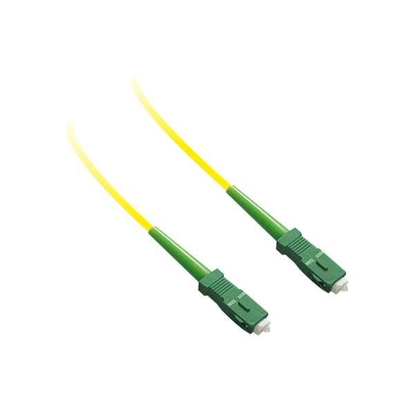 Fibre optique, Connectiques brassage, Jarretières monomodes, Jarretière 9/125 simplex SC-APC/SC-APC