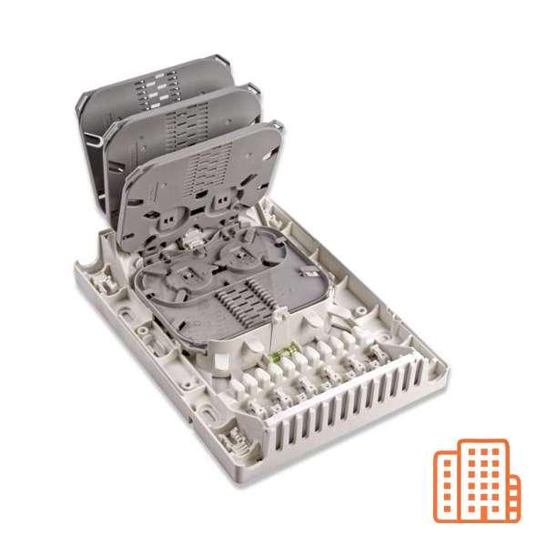 Fibre optique, Boîtiers, Boitier optique intérieur, Floor Distribution Box 48FO