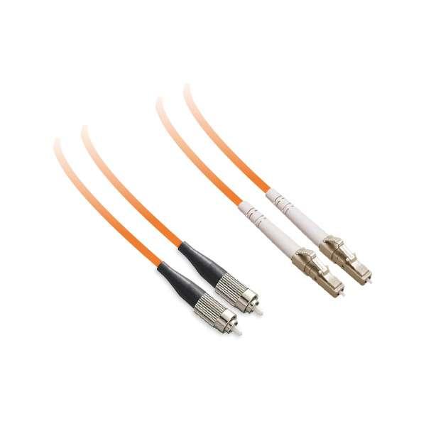 Fibre optique, Connectiques brassage, Jarretières multimodes, Jarretière 62.5/125 OM1 duplex-zip ST/LC
