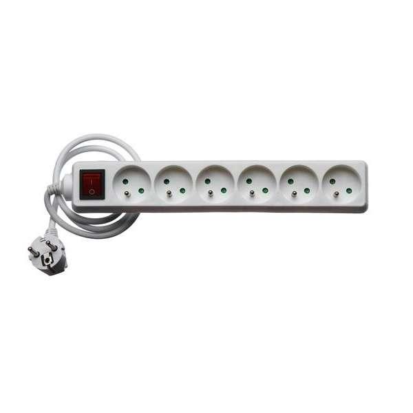 Matériels actifs, Protections équipements électriques, Autres produits électriques, Bloc 6 prises