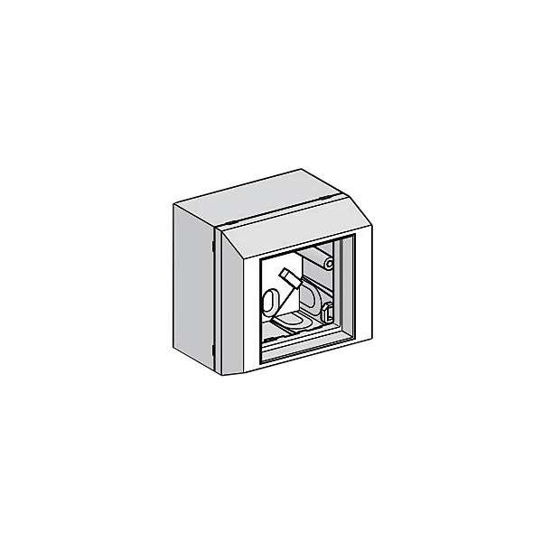Cuivre, Boîtiers modules, chassis et coffrets raccordement cu, Boitier monoplace abs - 45*45