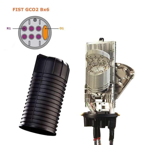 Fibre optique, BPE COMMSCOPE, FIST, Boîtier FIST GCO2 Bx6