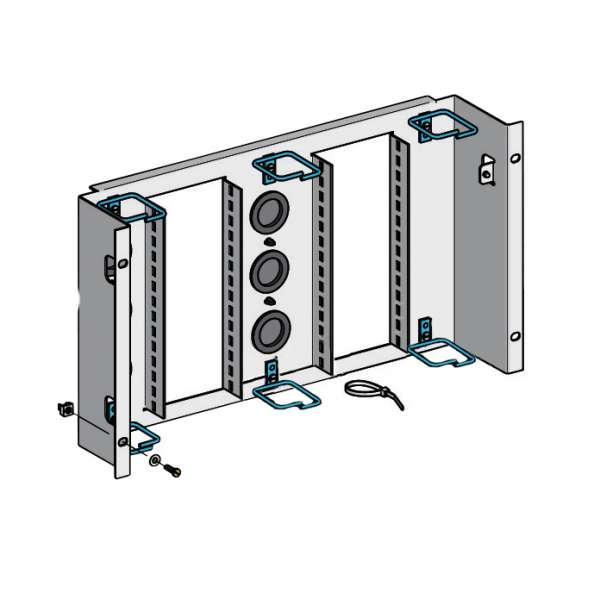 """Cuivre, Solutions VDI RJ45, Panneaux 19'', Panneau 19"""" BCC"""