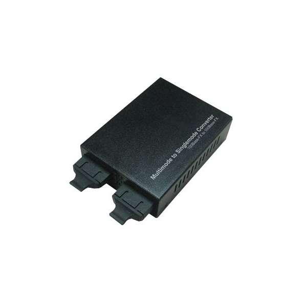 Matériels actifs, Actifs fibre optique, Solutions industrielles, Convertisseur Gigabit Ethernet multimode à monomode SC/SC