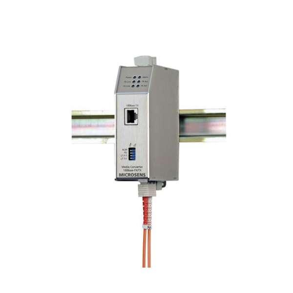 Matériels actifs, Actifs fibre optique, Solutions industrielles, Convertisseur média industriel Ethernet 10 Base FL/T