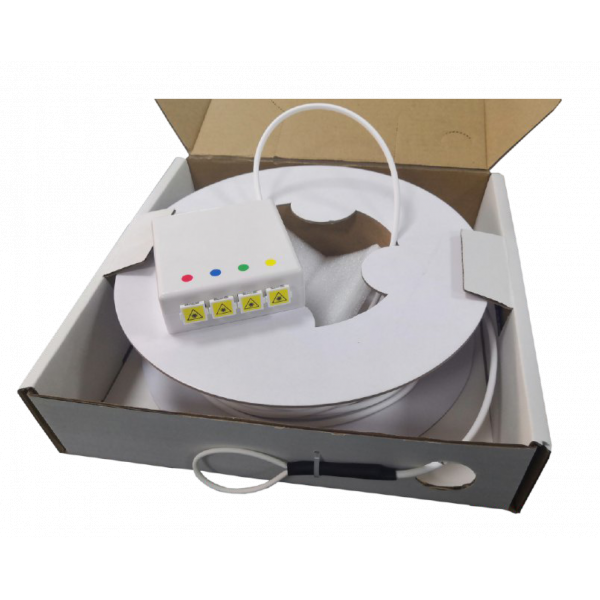 Fibre optique, Boîtiers, PTO/DTIO, Kit PTO THD Factory 4FO SC-APC