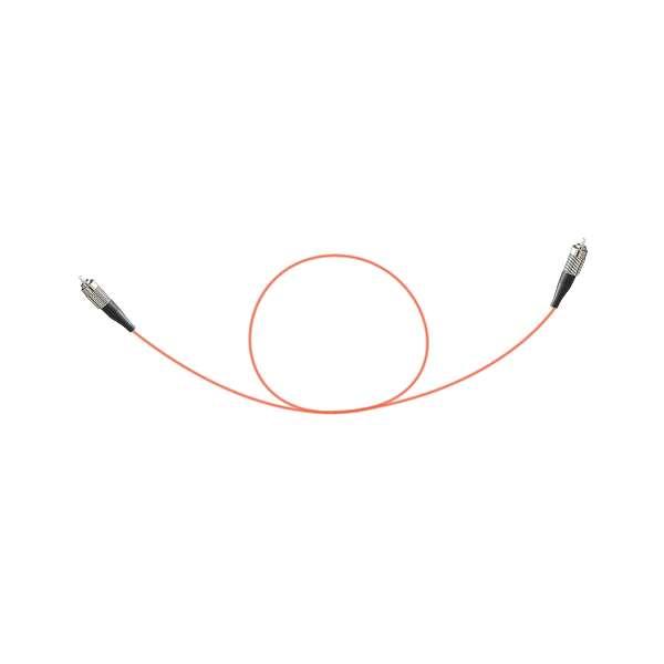 Fibre optique, Connectiques brassage, Jarretières multimodes, Jarretière 50/125 simplex FC-APC / FC-APC
