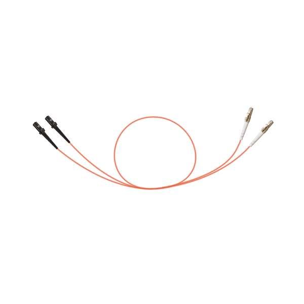 Fibre optique, Connectiques brassage, Jarretières multimodes, Jarretière 50/125 OM3 duplex-zip MTRJ/LC