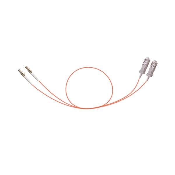 Fibre optique, Connectiques brassage, Jarretières multimodes, Jarretière TE 62.5/125 duplex SC/LC